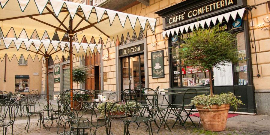 Café Al Bicerin em Turim.