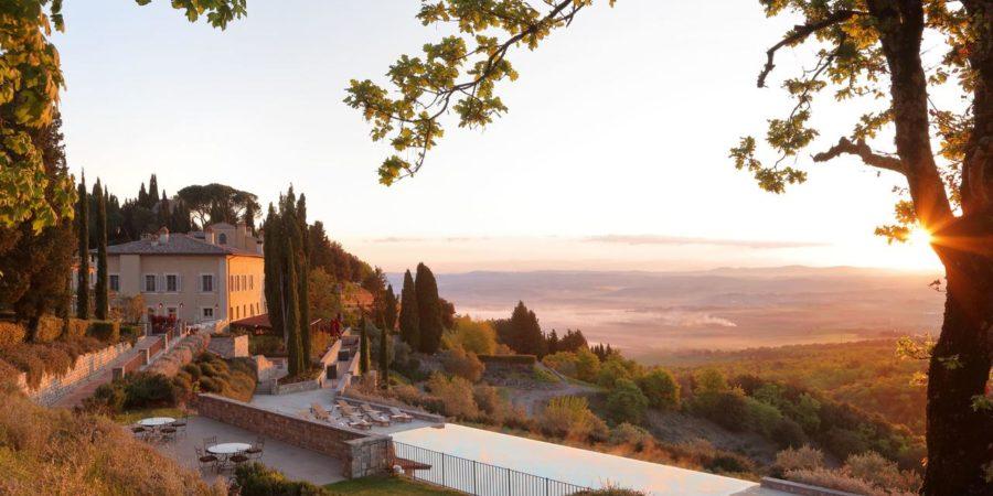 Luxuoso hotel Castiglion del Bosco é um 5 estrelas perfeito para o romance!|