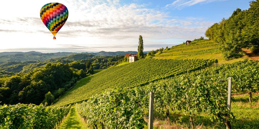 Embarque em um voo de balão privado para ver do alto as belezas da Toscana