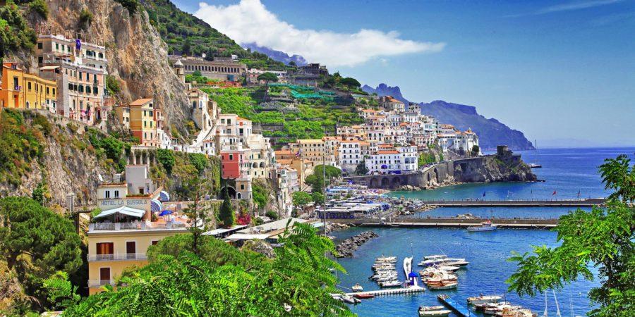 Vista panorâmica de Amalfi